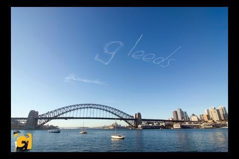 Skywriting in Sydney